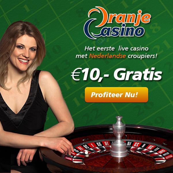 oranje casino gratis €10