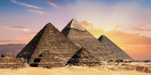5 slots met een Egyptisch thema