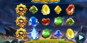Win prachtige prijzen in het berglandschap van Lightning Gems!